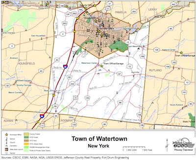 town-of-watertown-map