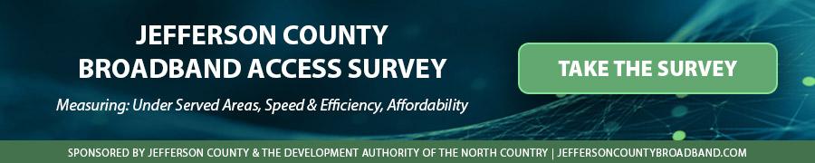 Jefferson County Broadband Access Survey 2021